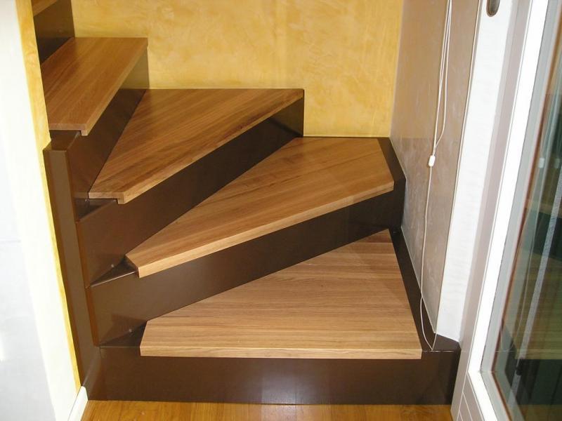 Scale steelsystem s a s - Rivestimento in legno per scale ...
