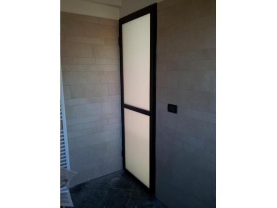 Serramenti steelsystem s a s - Vetro porta interna ...